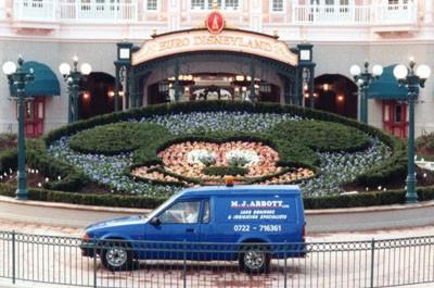 Euro Disneyland (now Disneyland Paris) Opening Crew (1992)
