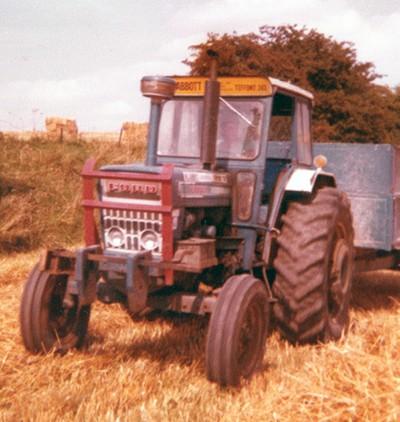 Hauling grain (1970s)