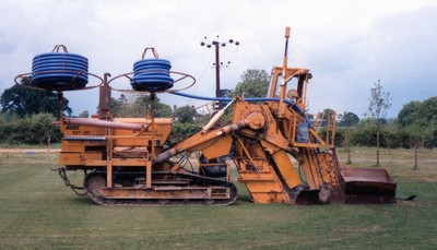 Hoes 130 Trencher (mid 1980s)