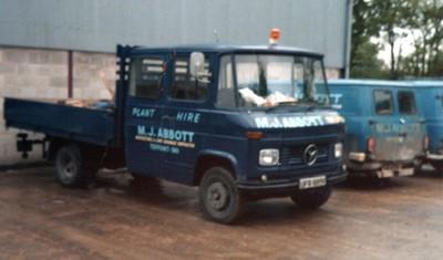 Mercedes van (1980s)