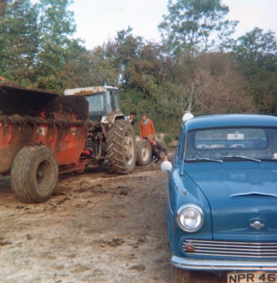 Muck spreading (early 1970s)