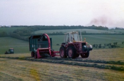 Silage making (1970s)