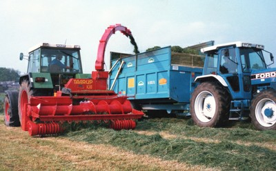 Silage making (1980s)