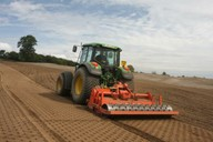 Used for topsoil cultivations - buries small stones