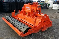 Used for topsoil cultivations - buries small stones using a vibrating soil screener