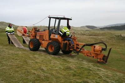 Case 660 mole plough