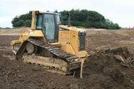 Used for bulk earthworks and shaping