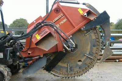 Ditch Witch rock wheel