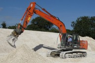 Used for earthworks, shaping, placing materials and lifting