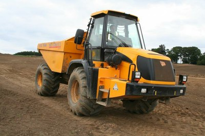 JCB 714 articulated dumper