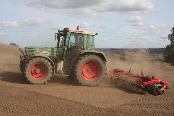 Vaderstad RX450 grading roller