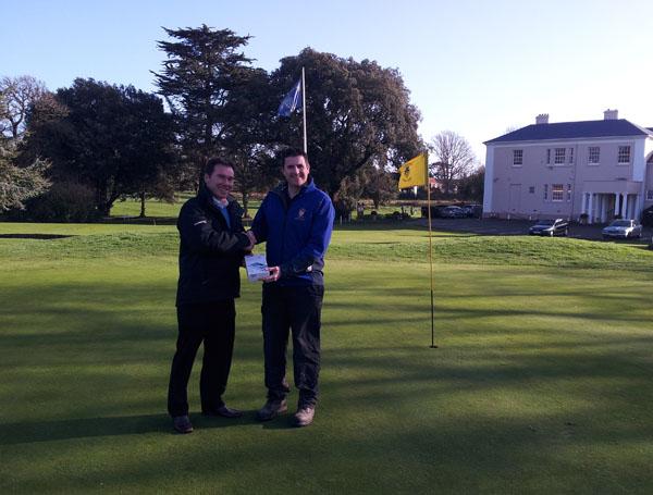 Alan Pierce of Ham Manor Golf Club wins our prize draw