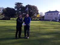 Alan Pierce of Ham Manor Golf Club wins our prize draw