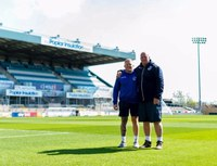 Bristol Rovers ground staff awarded Grounds Team of the Season