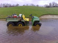 Bunker Plug can help alleviate flooded bunkers