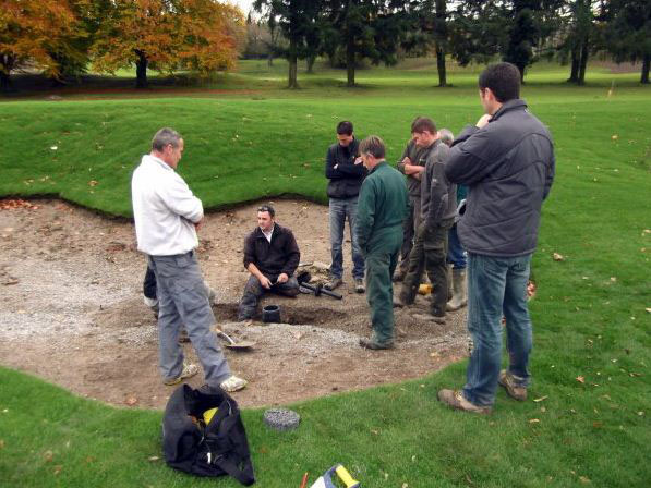 Bunker Plug specified at Evian Masters project