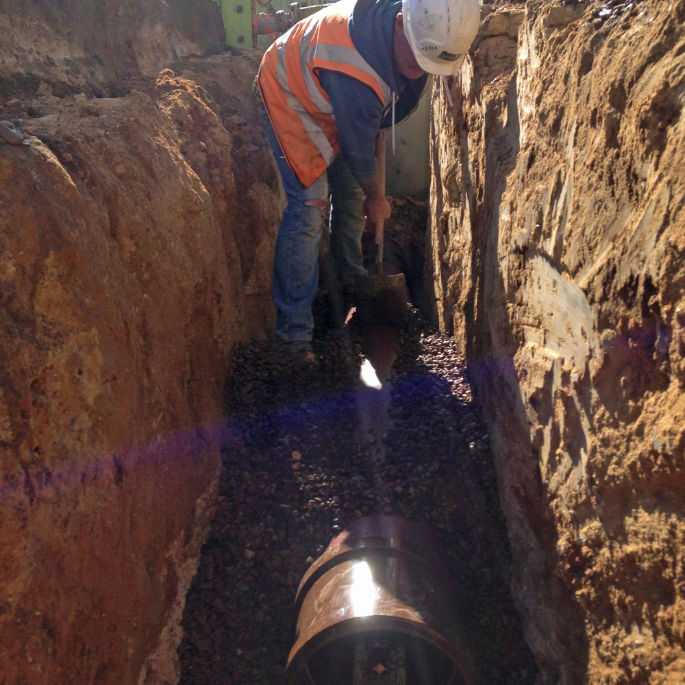 DAB Civil Engineering delighted with HS Pipe