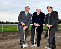 Ground breaking ceremony held at London Irish training facility