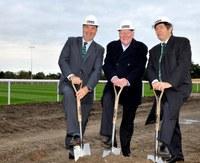 Ground breaking ceremony held at London Irish training facility
