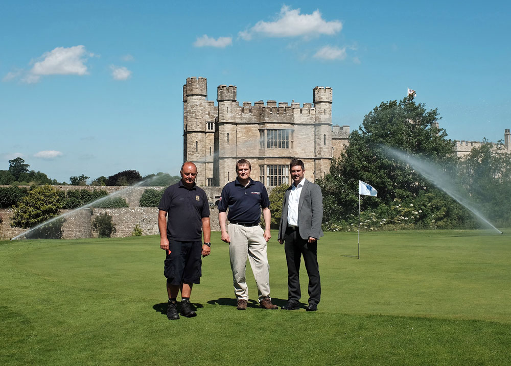 Irrigation investment for 'loveliest castle in the world'