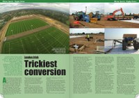 London Irish project featured in PitchCare