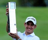 Manassero wins PGA Championship at Wentworth