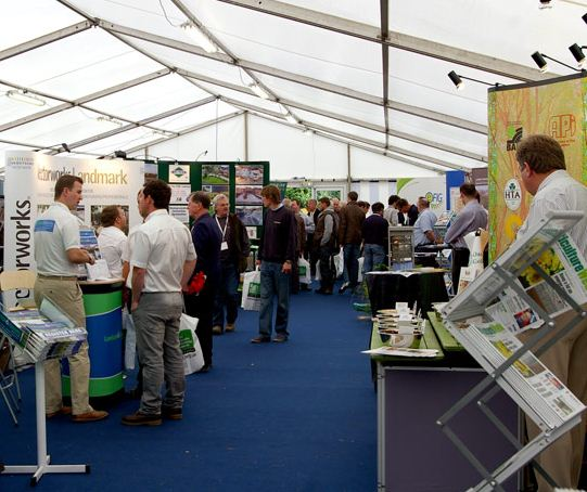 MJ Abbott exhibiting at The 2012 BALI Landscaping Show