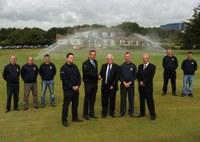 MJ Abbott installs irrigation system at birthplace of Ryder Cup