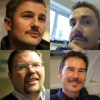 MJ Abbott Mo Bros raise more than £1,000 in Movember