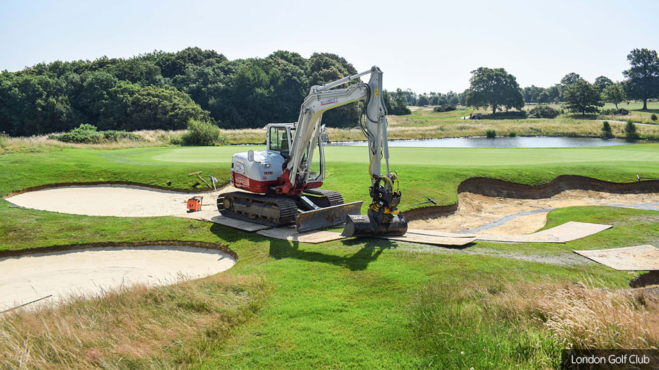 MJ Abbott mobilises resources rapidly for repair work at London Golf Club