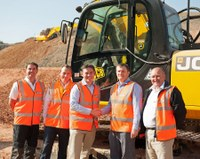 MJ Abbott orders JCB machines at excavator event