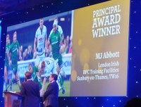MJ Abbott wins Principal Award at 2014 BALI Awards
