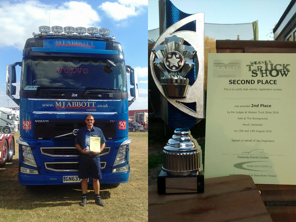 MJ Abbott's Jon Cox wins another Truck Show award