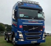 MJ Abbott's Jon Cox wins awards at Wessex Truck Show