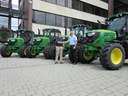 MJ Abbott's new John Deere tractors lead to gold