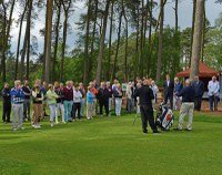 New short game area at Woburn opened by Manuel Piñero