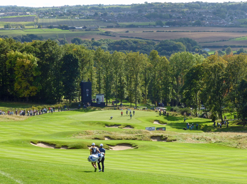 Record crowds at Close House for British Masters