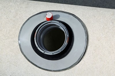 Completed Renovation Socket connection in situ on concrete pipe