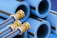 Barrier pipe and fittings