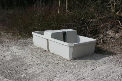 Concrete water trough