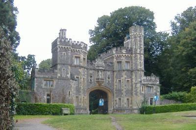 The entrance to Ashton Court