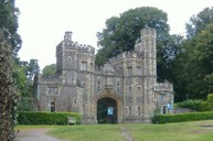 The entrance to Ashton Court