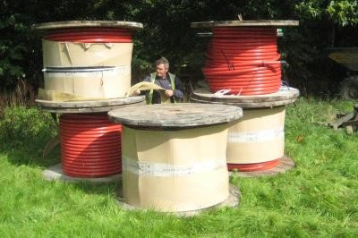 11 kVA cable drums