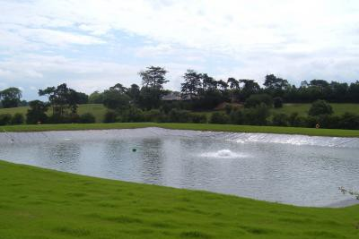 Completed reservoir with aeration