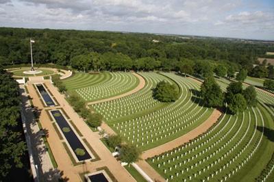 Cambridge American Cemetery Mj Abbott