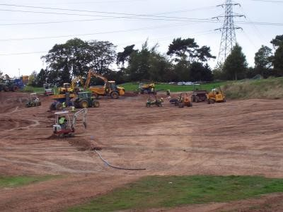 Fairway construction