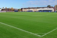 Completed match pitch