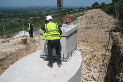Installation of reservoir lid