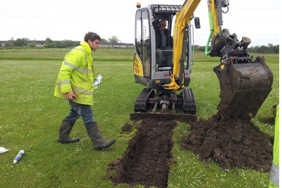 Soil investigation survey for hazardous materials