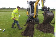 Soil investigation survey for hazardous materials